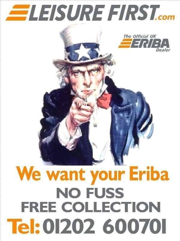 We Want Your Eriba | Leisure First