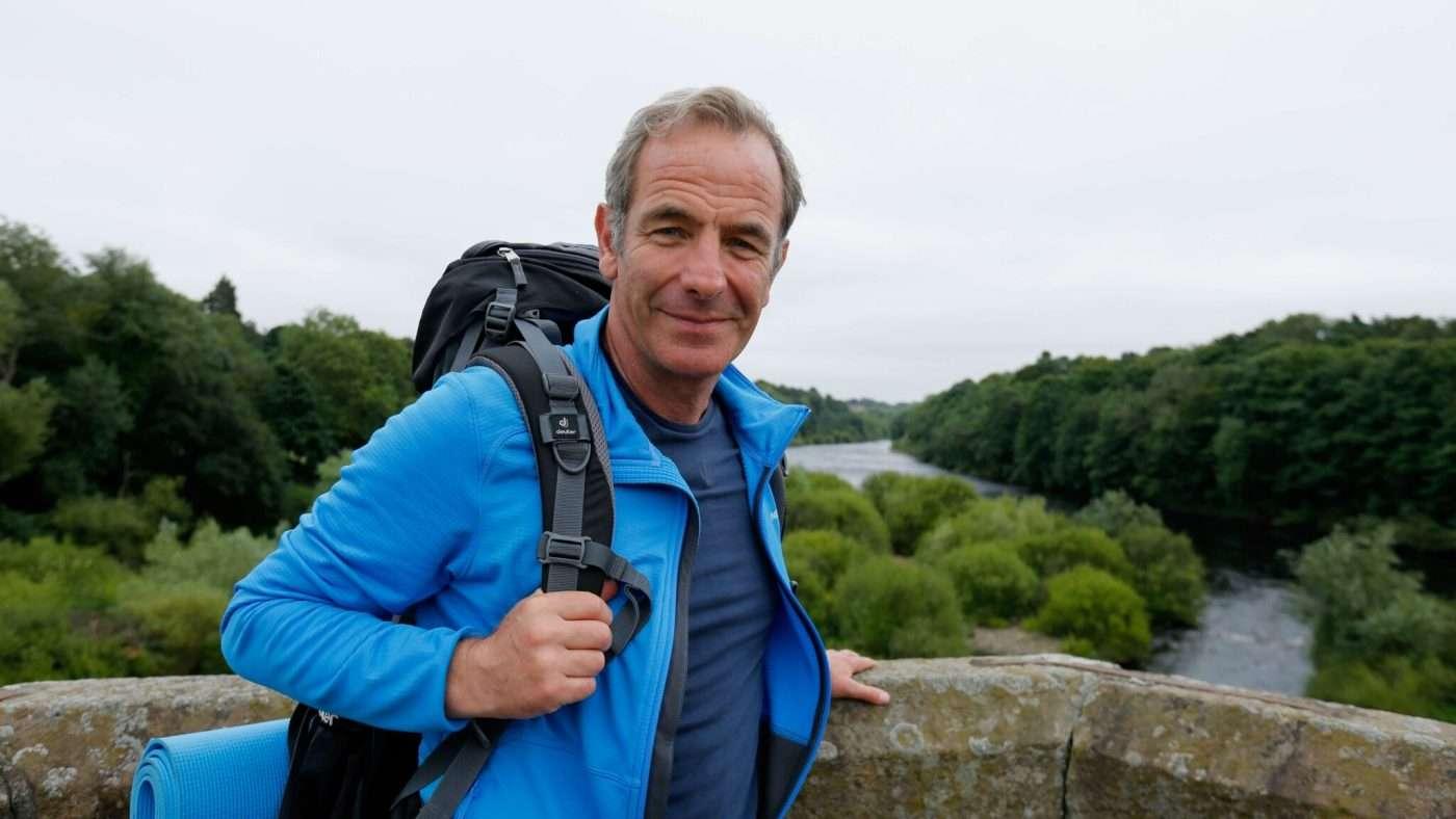 Walking Hadrians Wall with Robson Green